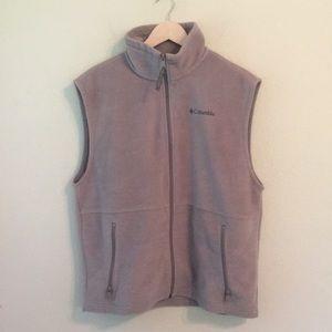 Columbia Fleece Full Zip Vest